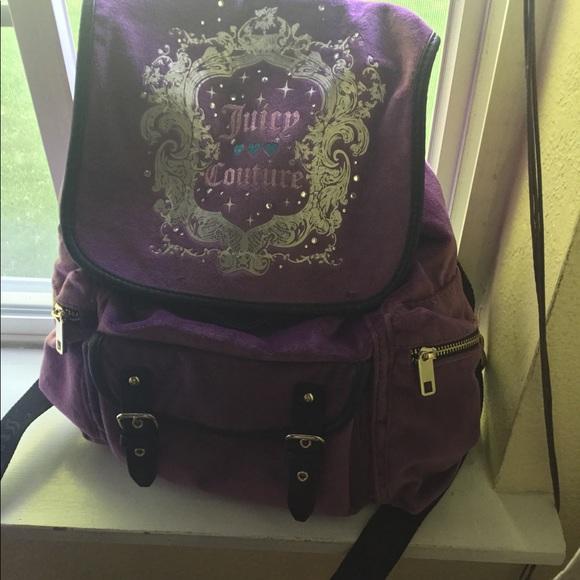 Royal Purple Princess BackPack Marilyn RoseSales